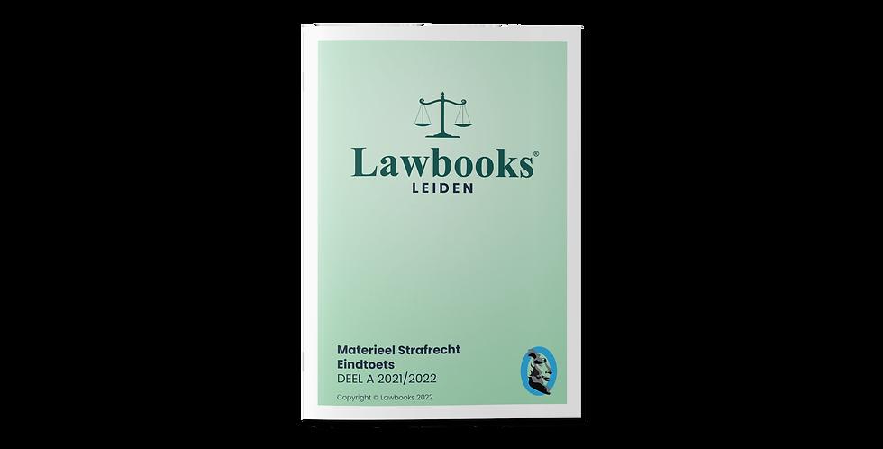 Materieel Strafrecht Eindtoets DEEL A