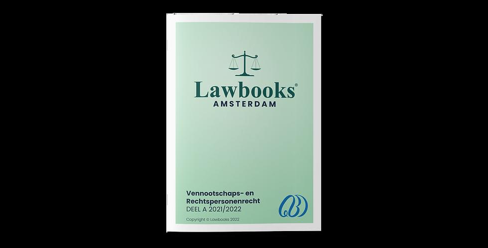 Vennootschappen- en Rechtspersonenrecht DEEL A