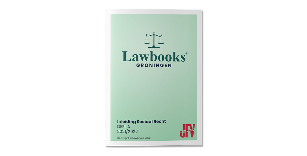 Inleiding Sociaal Recht DEEL A