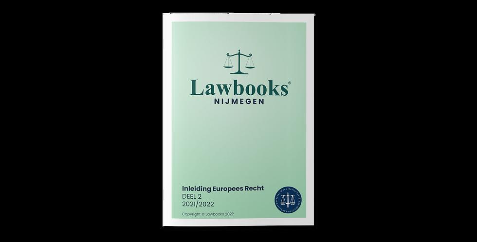 Inleiding Europees Recht DEEL 2