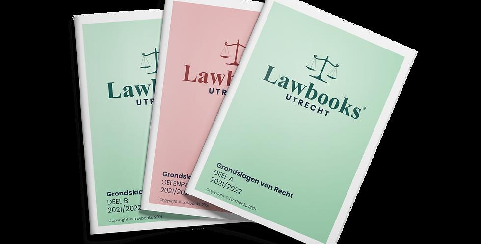 Totaalpakket Grondslagen van Recht Jaar 1 Blok 1