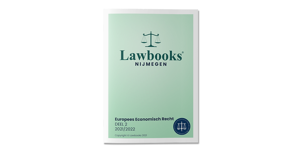 Europees Economisch Recht DEEL 2