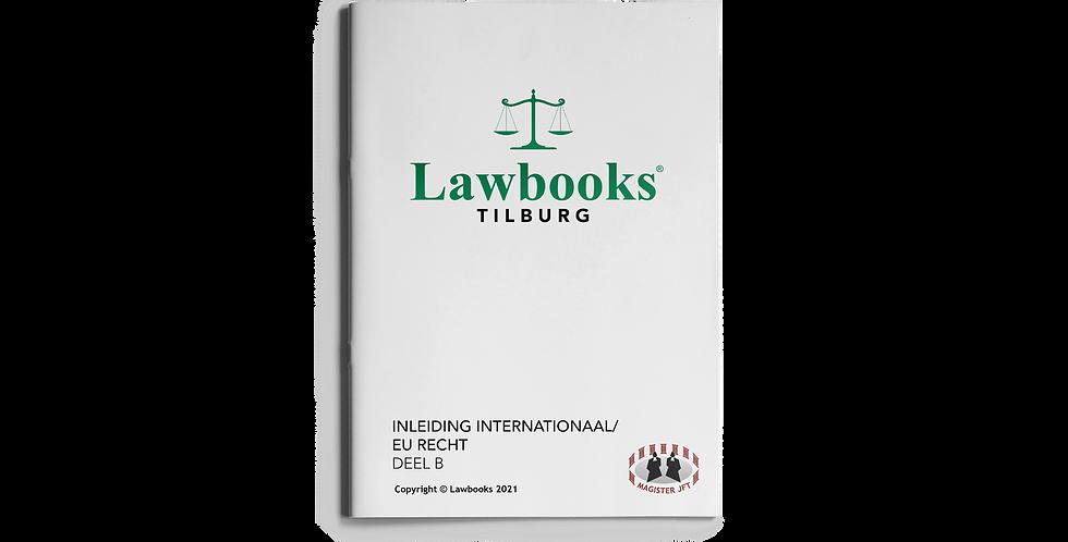 Inleiding Internationaal/EU Recht DEEL B