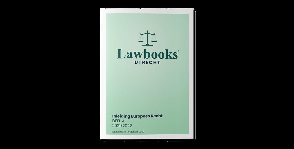 Inleiding Europees Recht DEEL A