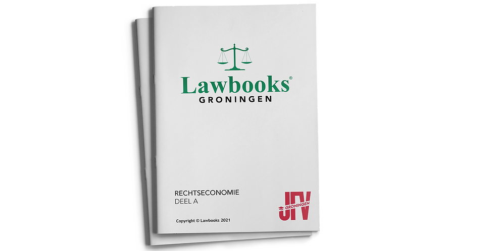 Alles voor Rechtseconomie
