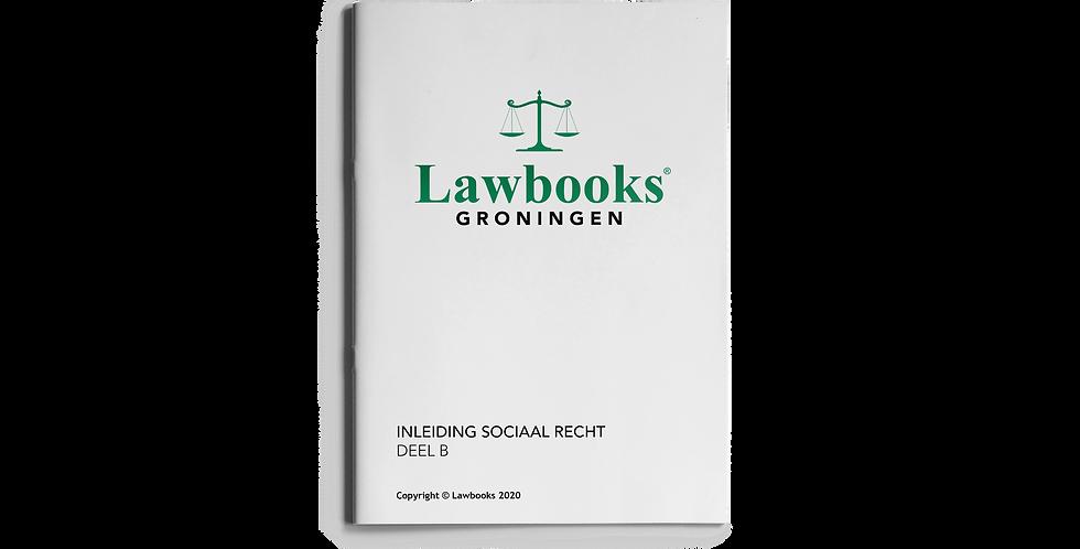Inleiding Sociaal Recht DEEL B