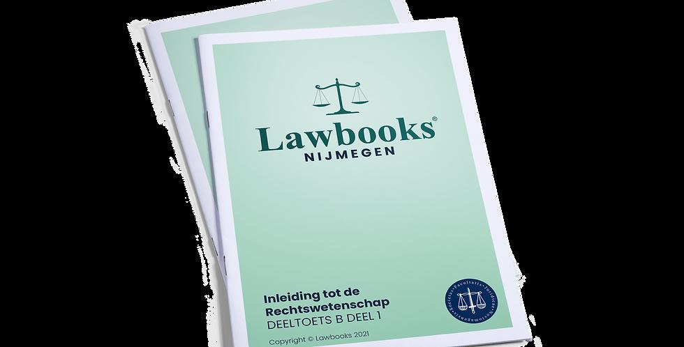 Totaalpakket Inleiding tot de Rechtswetenschap DEELTOETS B