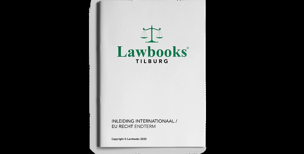 Inleiding Internationaal/EU Recht ENDTERM