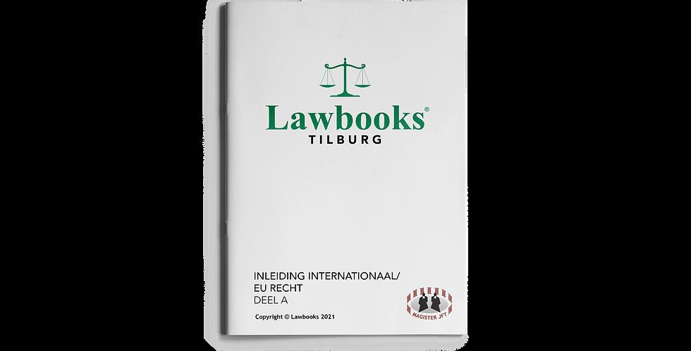 Inleiding Internationaal/EU Recht DEEL A