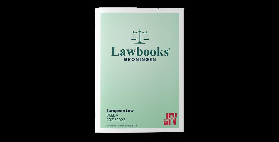 European Law DEEL A