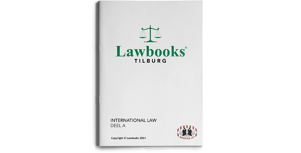 International Law DEEL A