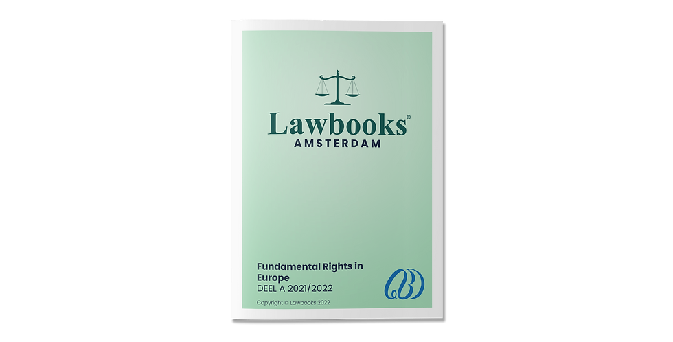 Fundamental Rights in Europe DEEL A