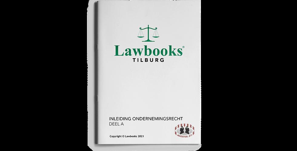 Inleiding Ondernemingsrecht ENDTERM DEEL A