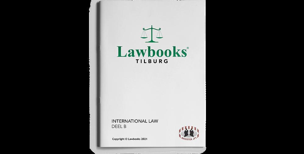 International Law DEEL B