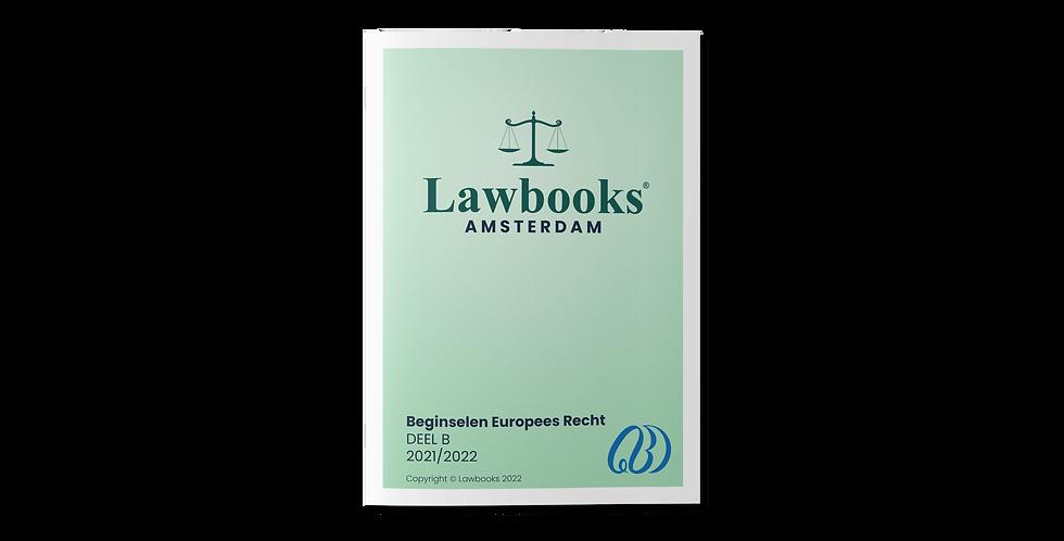 Beginselen Europees Recht DEEL B
