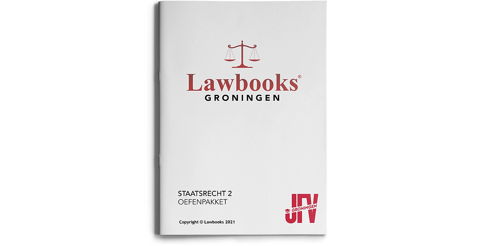 Staatsrecht 2 OEFENPAKKET