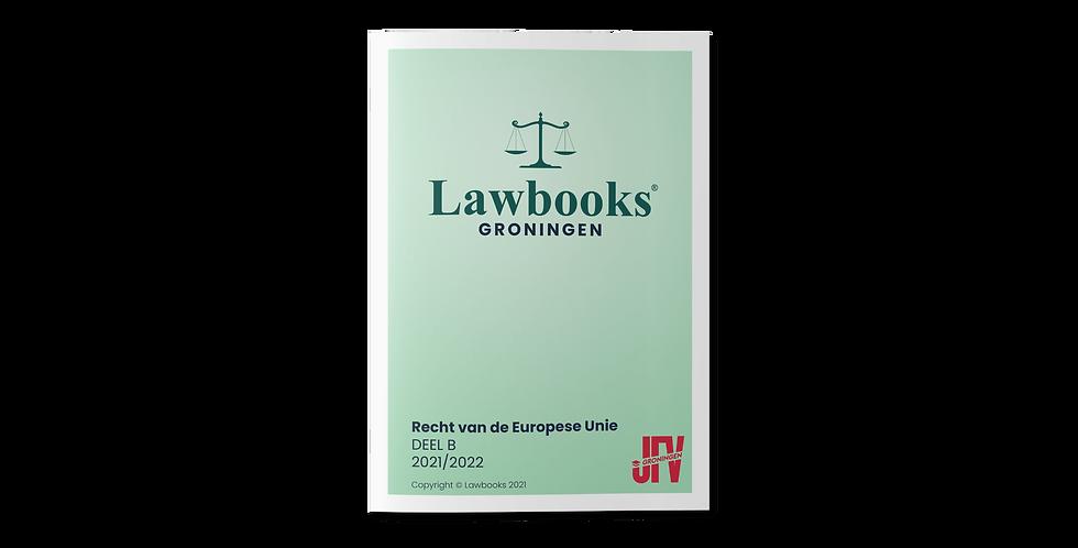 Recht van de Europese Unie DEEL B