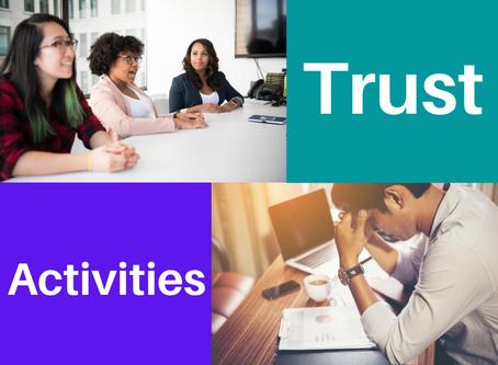 Employee Burnout, Engagement & Activities to Build Trust