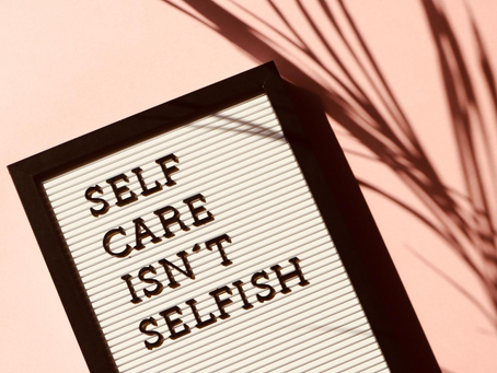 Care for yourself to care for others - 3 minutes self-care guide