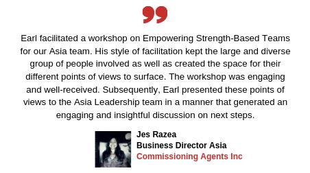 Testimonial Jes Razea  of Commissioning Agents International