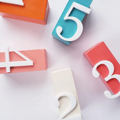 Block table numbers