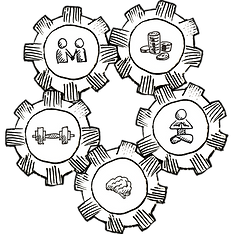 5 Life Core Gears
