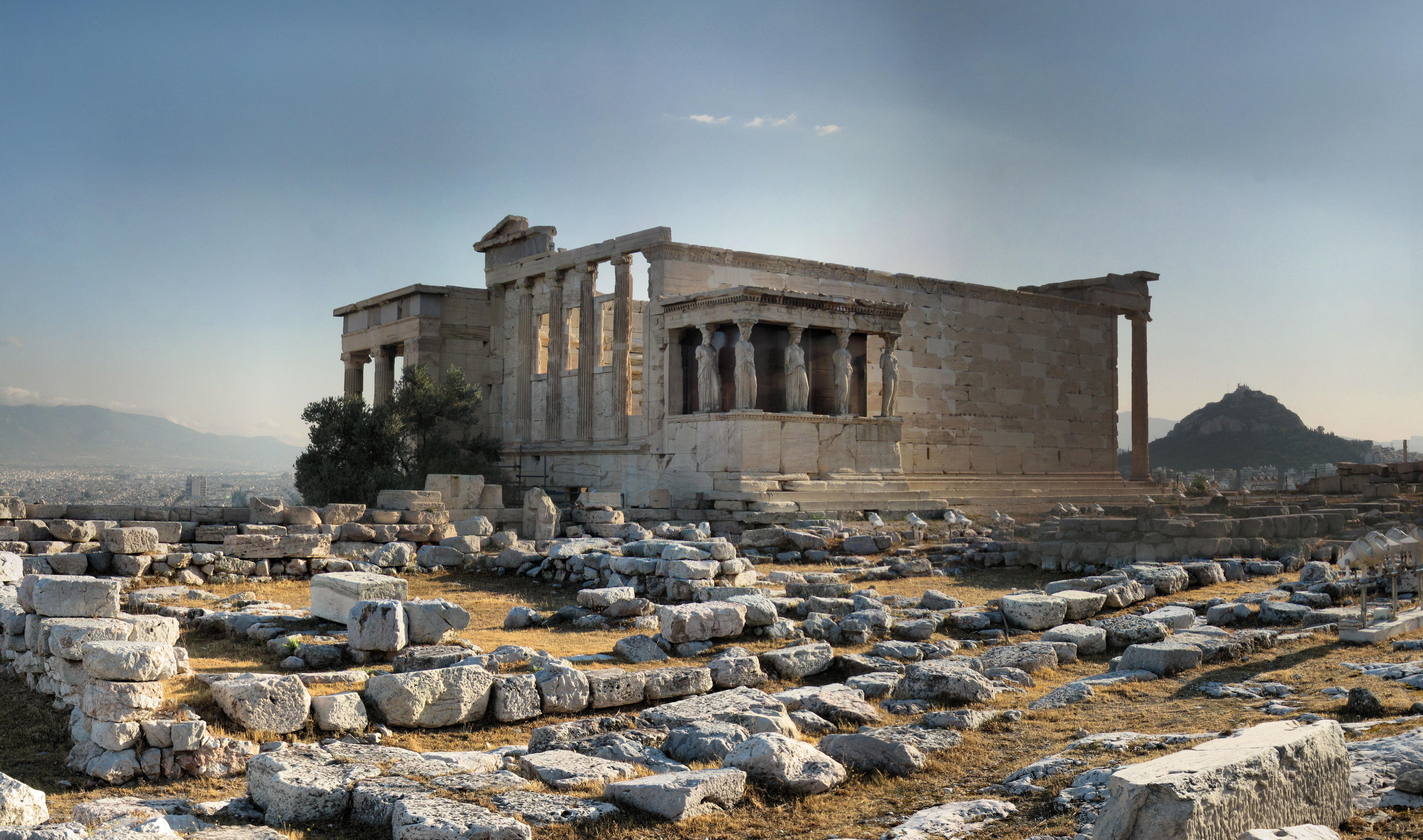 Pelerinage en Grece Acropole