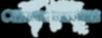 Logo chemins et rencontre bleu transpare