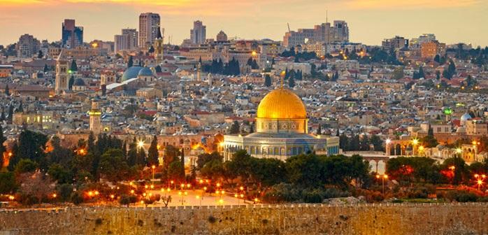 Vue de Jérusalem