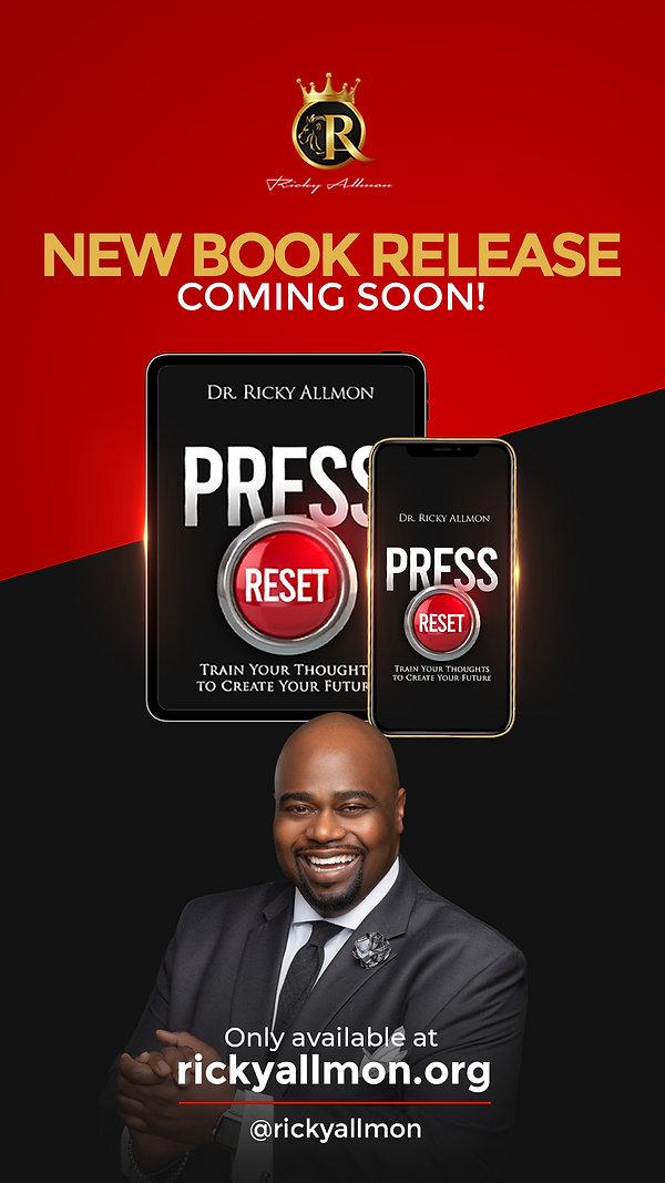 ricky allmon press reset coming soon 108