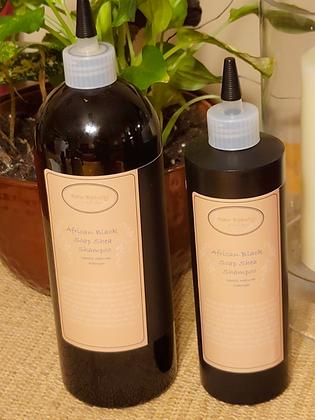 African Black Soap Shea Shampoo