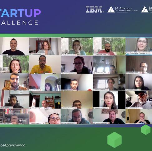Inicia Capacitación de Startup Challenge | IBM