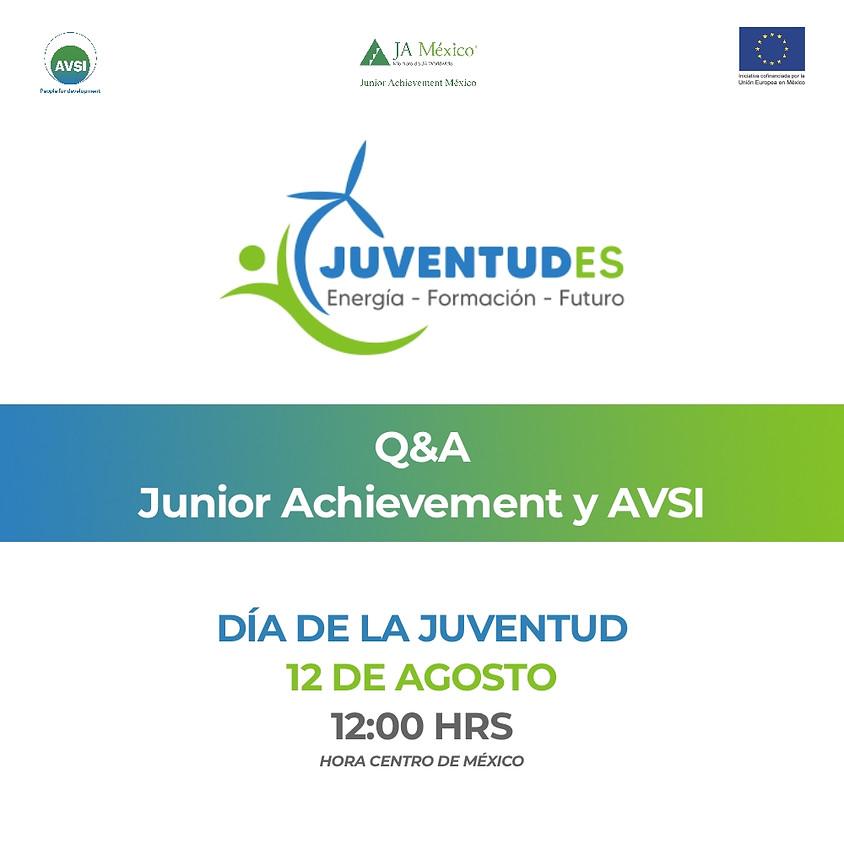 Programa Juventudes | Q&A con Junior Achievement & AVSI
