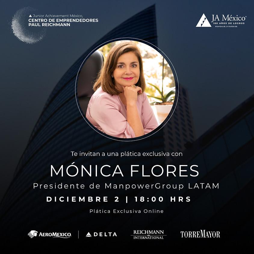 Plática Exclusiva con Mónica Flores