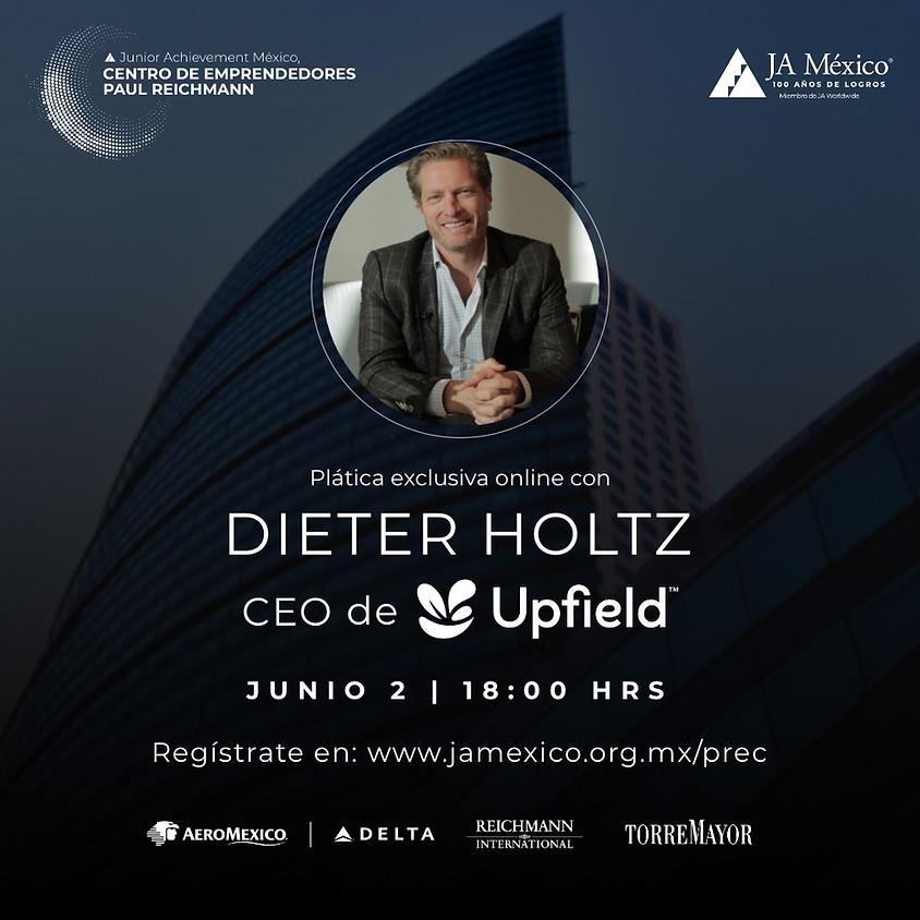 Plática Exclusiva con Dieter Holtz, CEO de Upfield