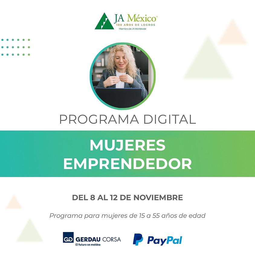 Mujeres Emprendedoras | Gerdau Corsa & PayPal México