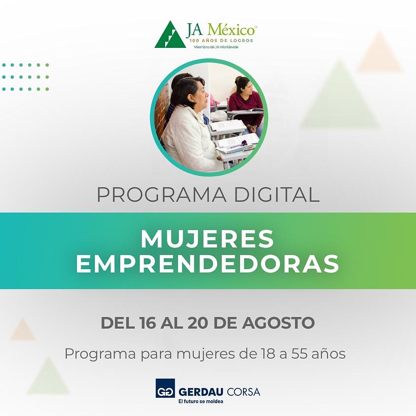 Mujeres Emprendedoras | Gerdau Corsa México