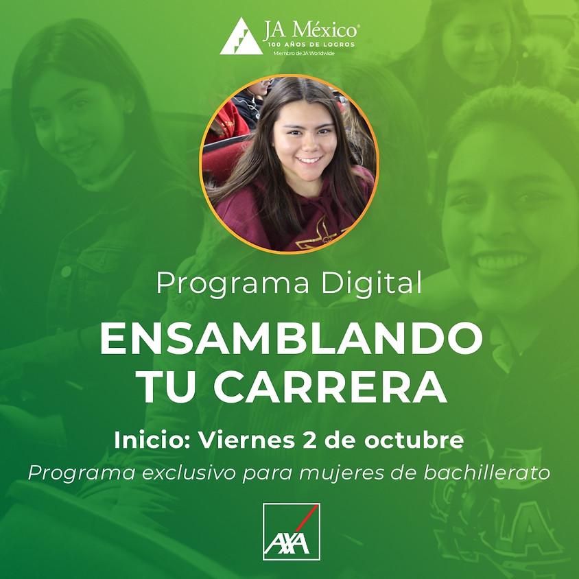 Ensamblando tu carrera | Programa exclusivo para mujeres