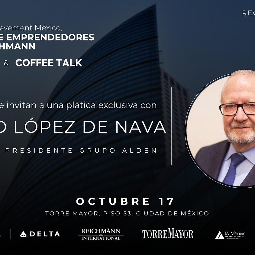 JA Centro de Emprendedores Paul Reichmann | Coffee Talk con Alberto López de Nava