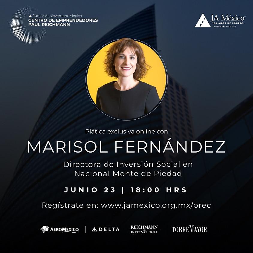 Plática Exclusiva con Marisol Fernández