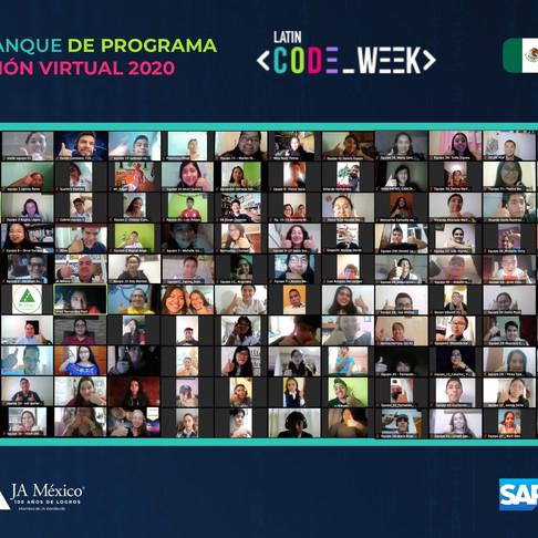 Arranque del Latin Code Week 2020 | SAP