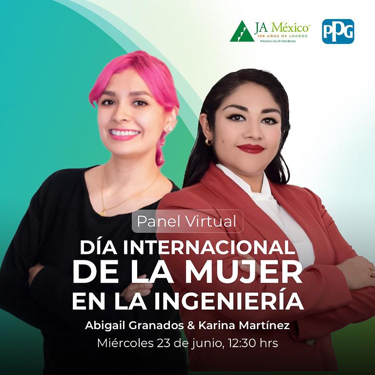 Panel virtual | Día Internacional de la mujer en la Ingeniería