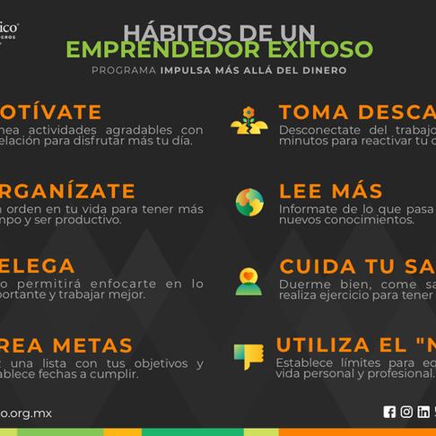 Hábitos de un emprendedor exitoso.