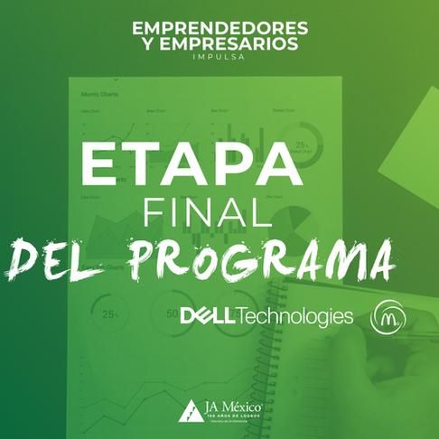 Etapa final del programa Emprendedores y Empresarios 2020
