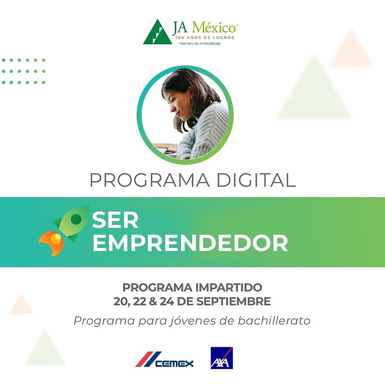 Ser Emprendedor | CEMEX & AXA