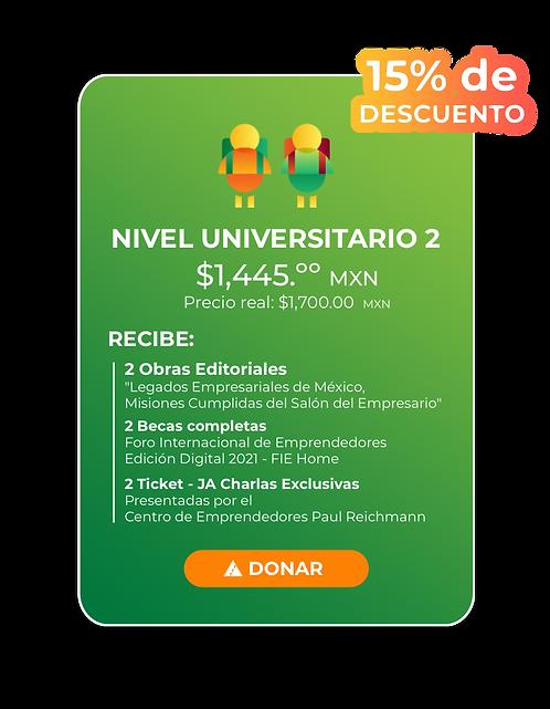 Nivel Universitario 2