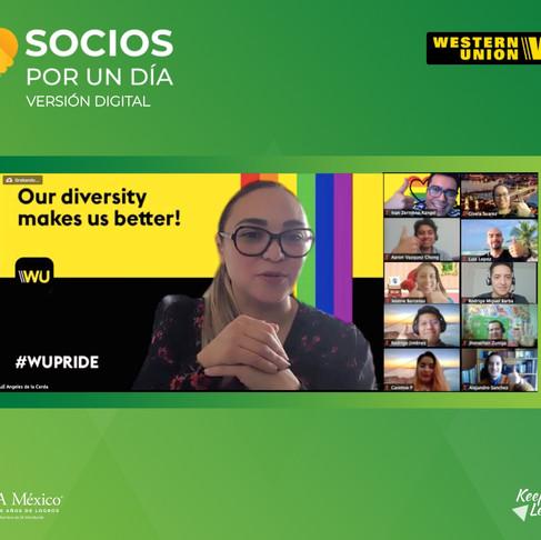 Socios por un Día | Western Union