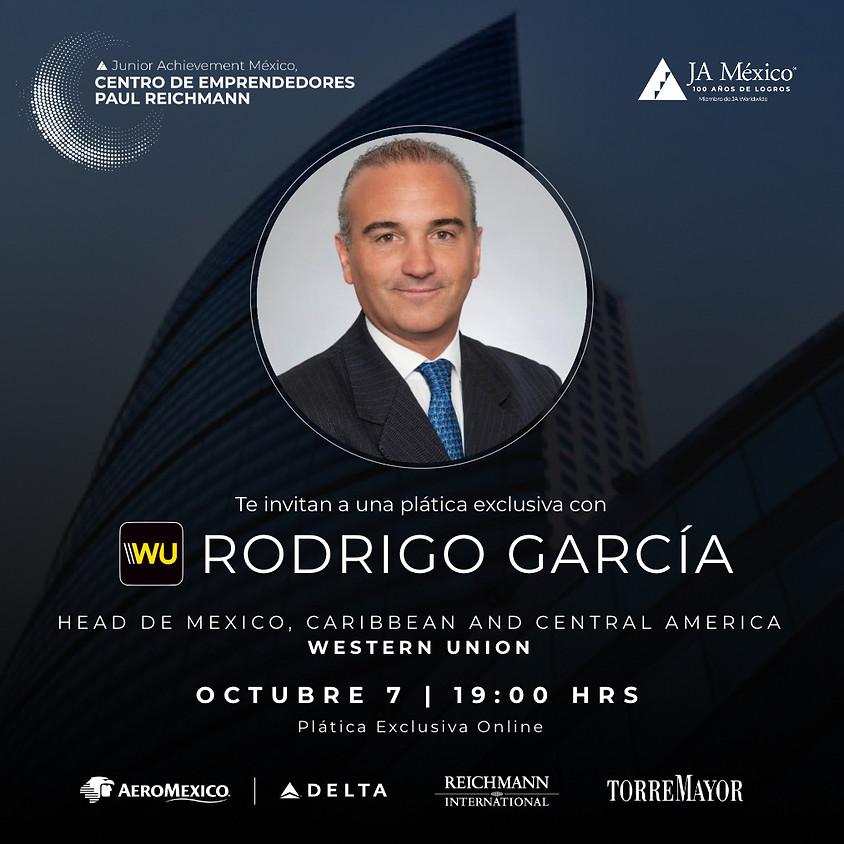 Plática Exclusiva con Rodrigo García