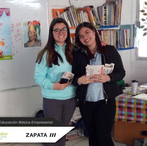 Programas de Educación Básica Empresarial con Corporación ZAPATA