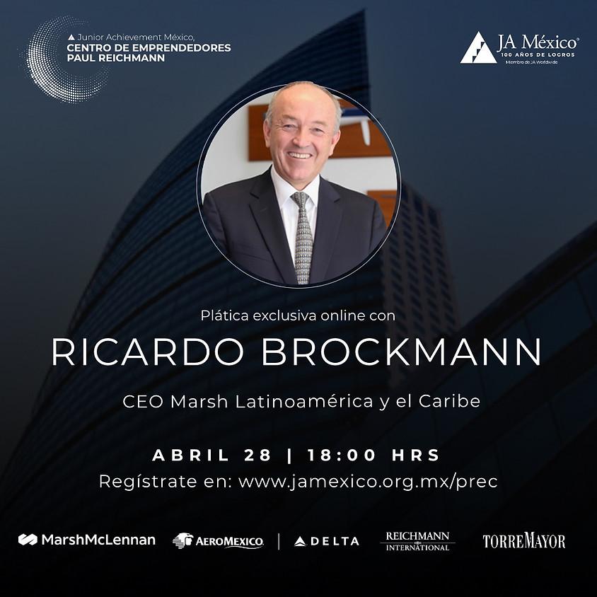 Plática Exclusiva con Ricardo Brockmann